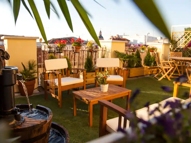 Airbnb madrid, superterraza