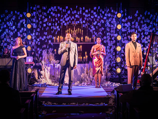 Looking a Lot Like Christmas, Donmar Warehouse, 2020
