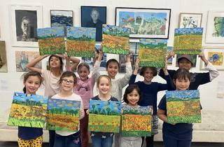 Art Est Art School summer holidays