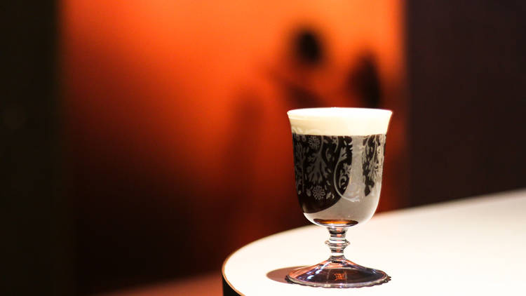 The Diplomat's Irish Coffee cocktail
