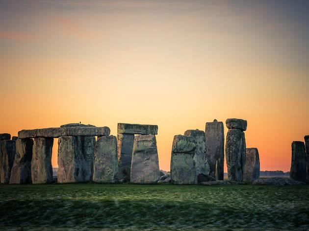 solstício de inverno de Stonehenge