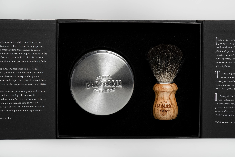 Gift Set da Antiga Barbearia de Bairro
