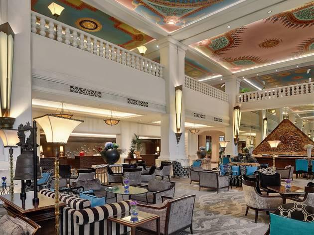 Lobby of Anantara Siam Bangkok Hotel
