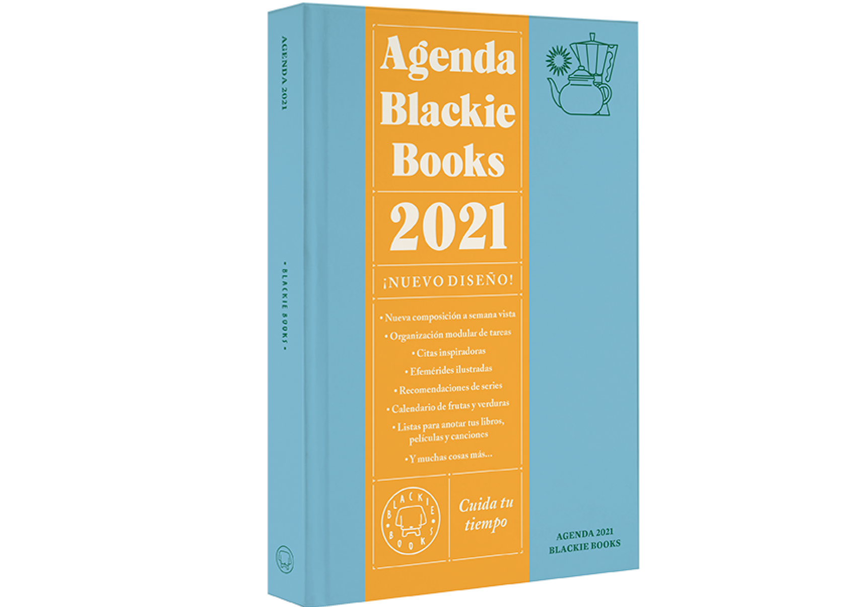 Agenda Blackie Books 2021