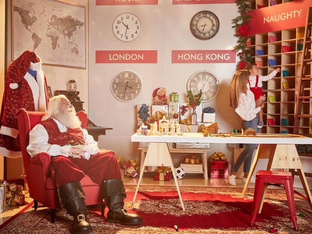Santa at Brickell City Centre