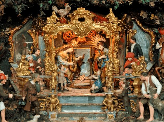 Presépio do século XVIII na Igreja de São José das Taipas