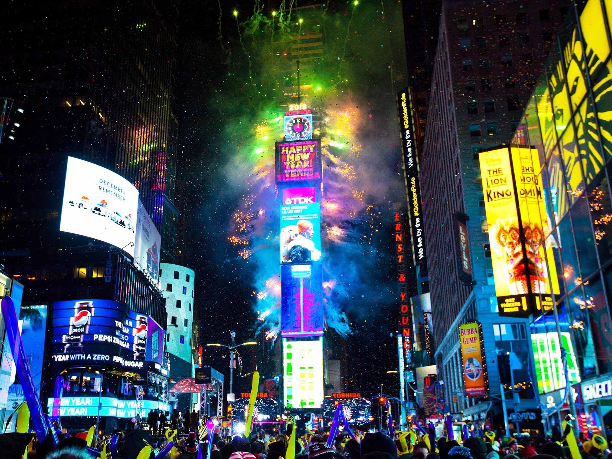 Times Square New Year's Eve guide
