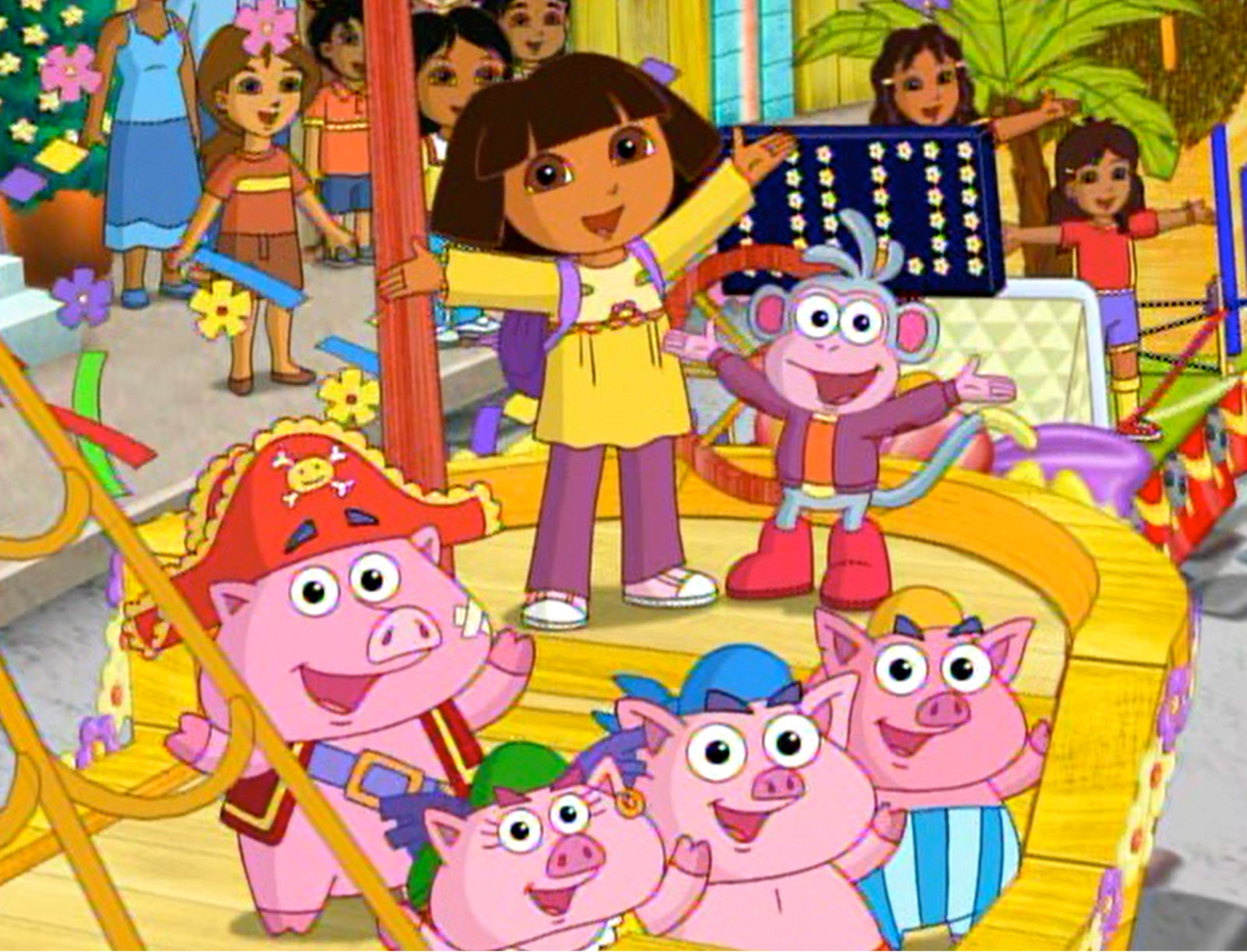 dora thanksgiving