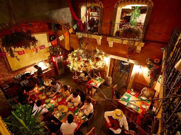 東京、本場の味が楽しめるメキシコ料理店
