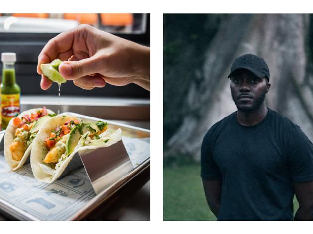 """HEAR WHAT YOU EAT #2 : Le Pescado Frito de Coyo Taco featuring """"Coastline"""" de Hagan"""