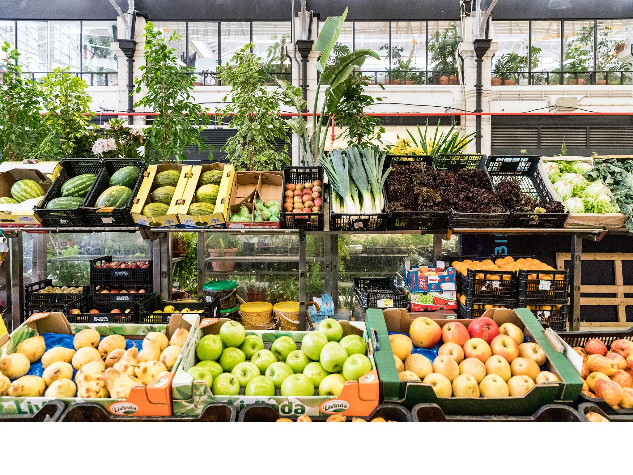 Mercados, Frescos, Mercado da Ribeira