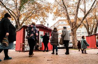 Mercado de Natal da penha de frança