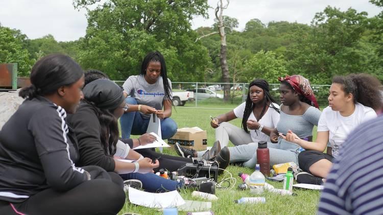 Photograph: Black Girls Camping Trip