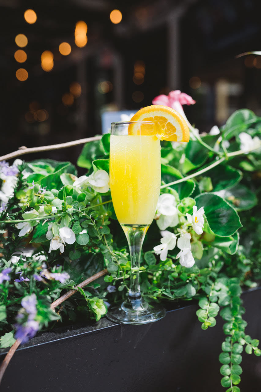 Mimosas at the Chester