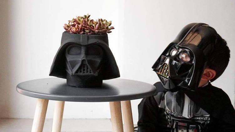 El Jardín de Yoda tiene macetas de Star Wars
