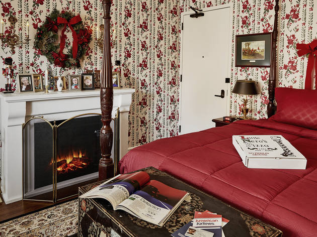 You can book a 'Home Alone' experience at this hotel