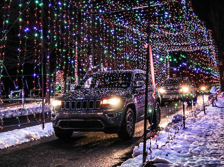 Christmas Light Show & Village
