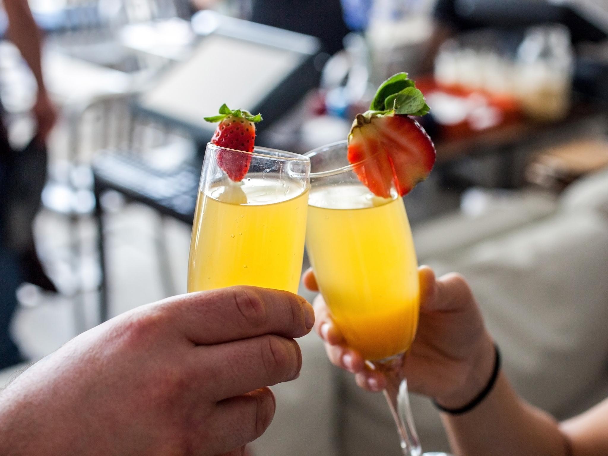 Icebox Cafe - mimosas