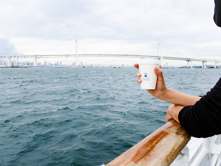 Boat and breakfast: this Yokohama Bay cruise comes with brunch at Bills