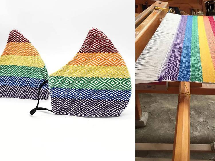 Los cubrebocas LGBTTTI artesanales que necesitabas