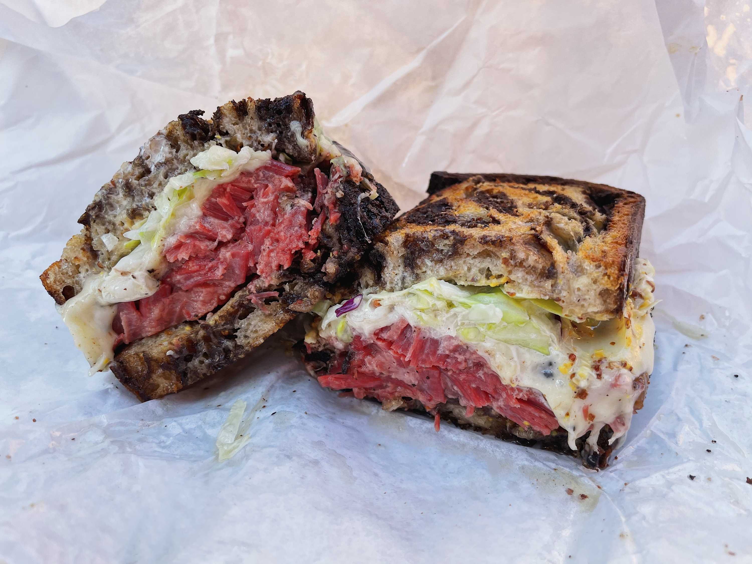 Johnny's West Adams pastrami sandwich