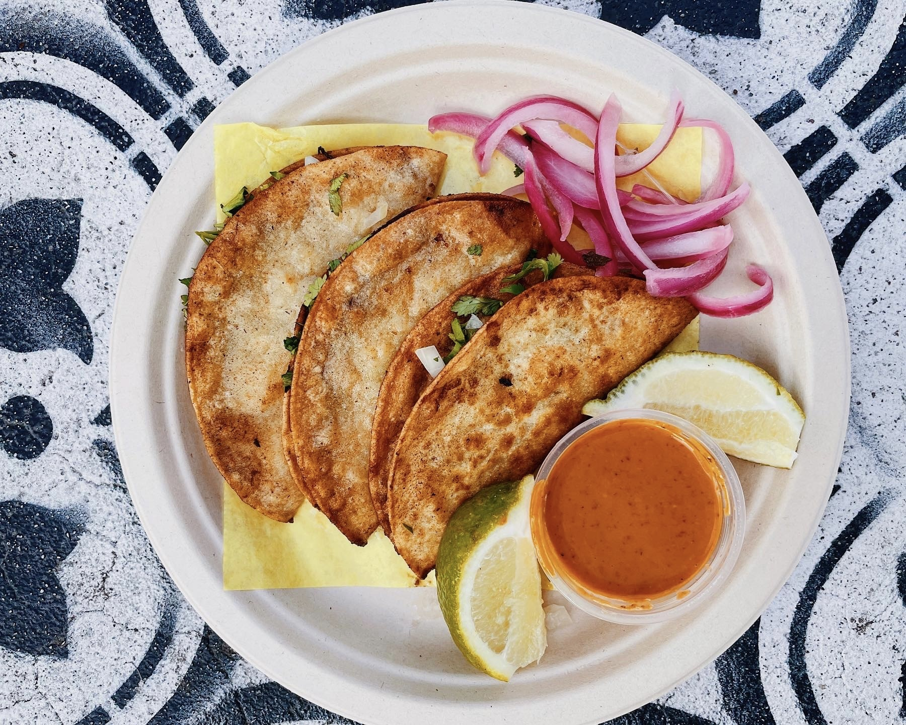 Tamales Elena y Antojitos pescadillas fish tacos