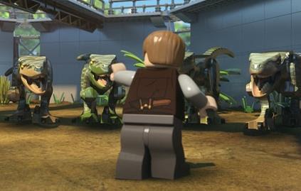 LEGO JURASSIC WORLD: EL ESCAPE DEL INDOMINUS  en Netflix