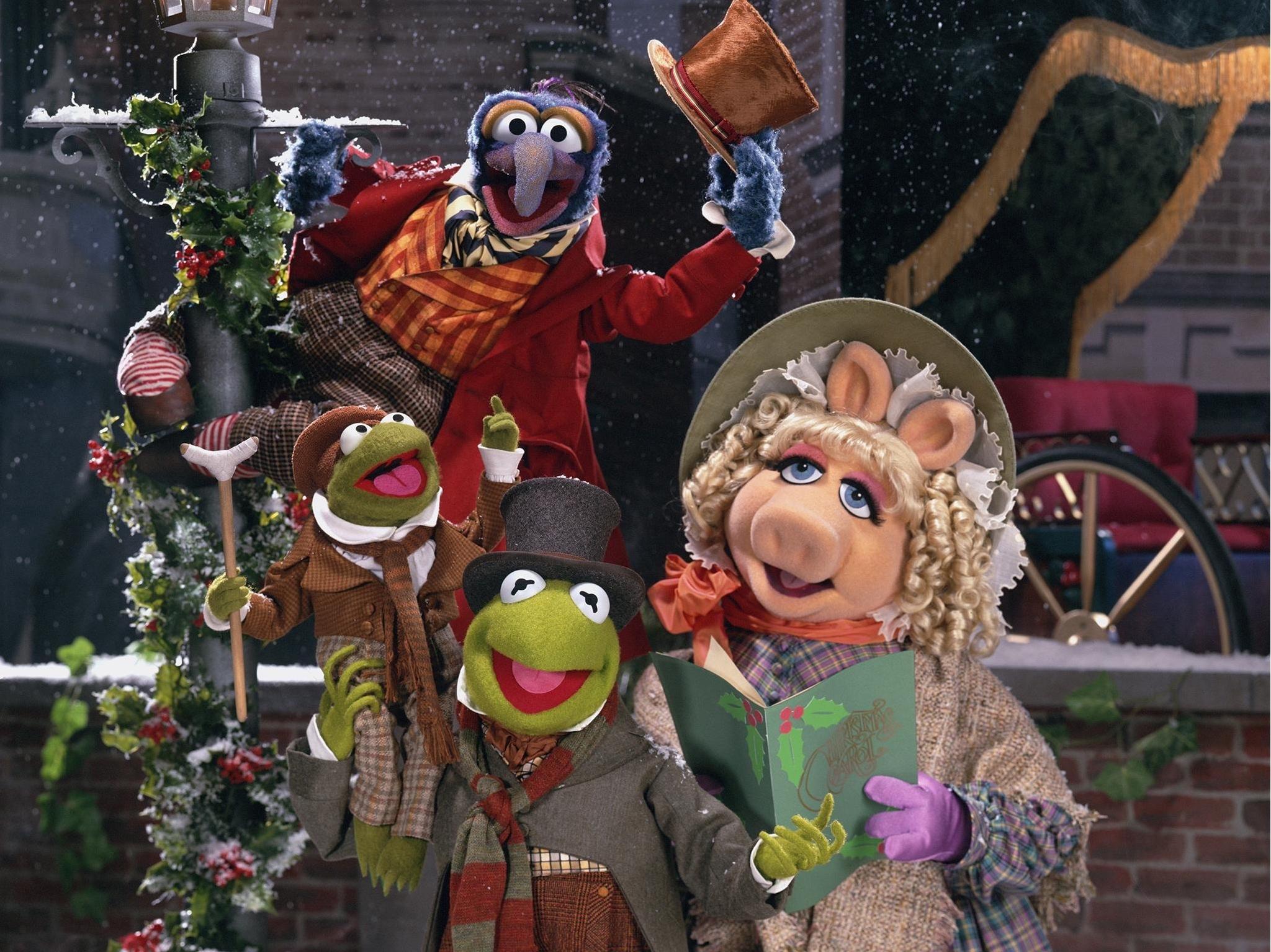 Una Navidad con los Muppets, adaptación navideña de Cuento de Navidad de Charles Dickens