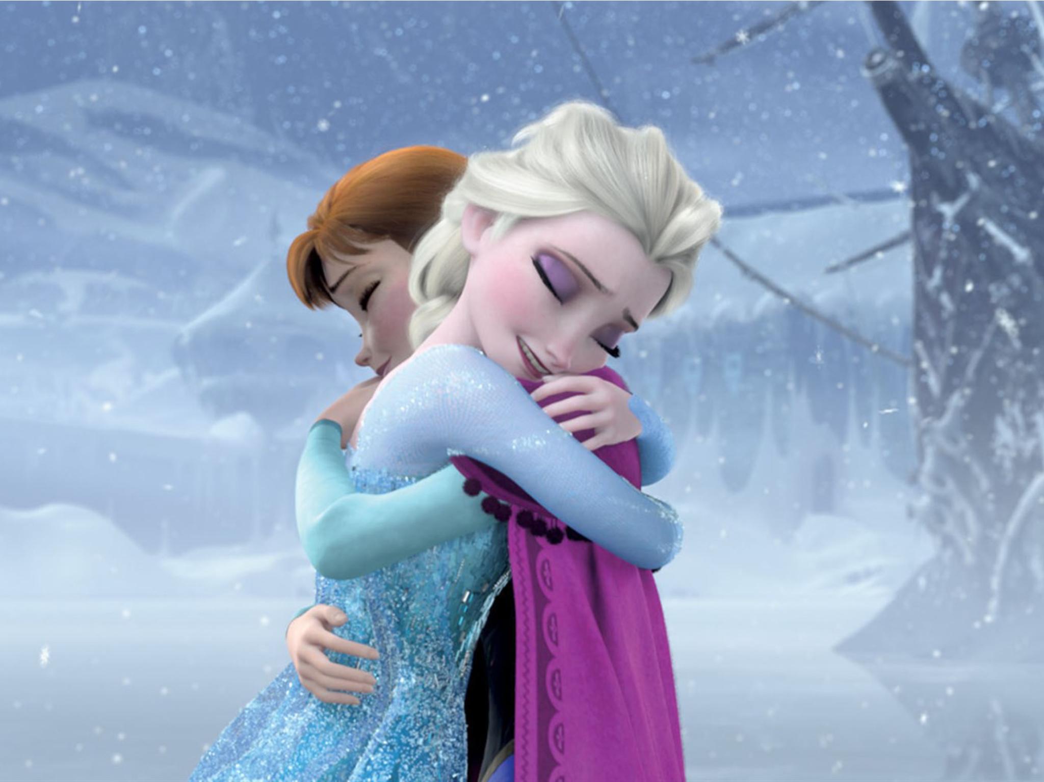 Frozen: una aventura congelada, película animada de Disney