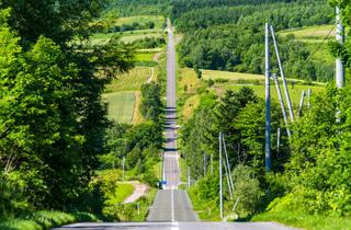 Hokkaido Roller Coaster Road