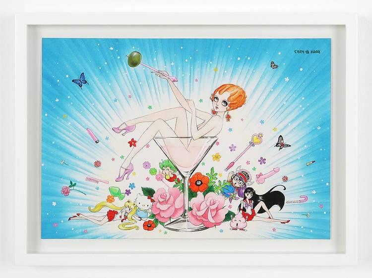 Discover artworks by Japanese artists at Aishonanzuka