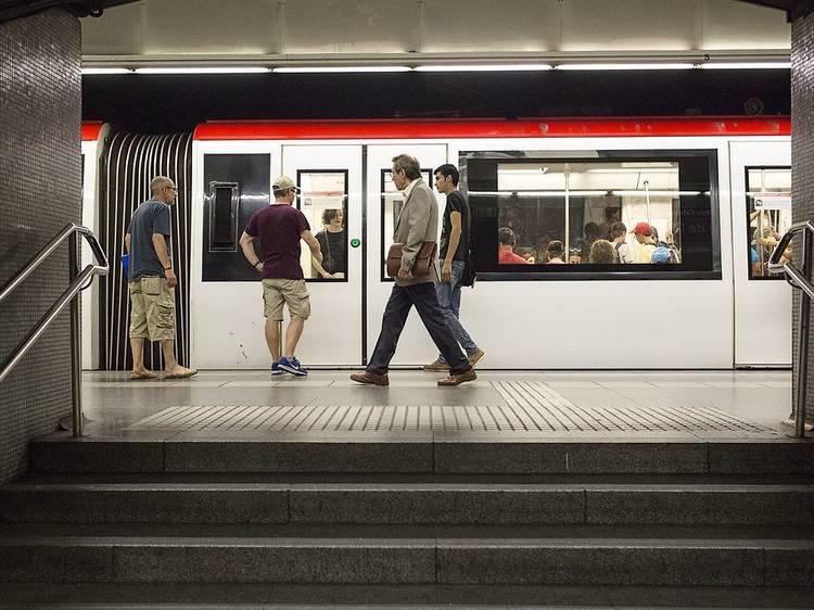 El metro funcionará todas las noches de las fiestas de la Mercè