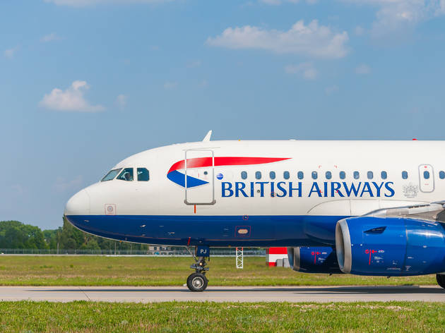 Avión de British Airways