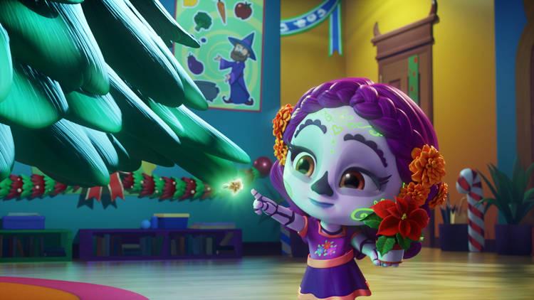 Super Monstruos en navidad en Discovery Kids
