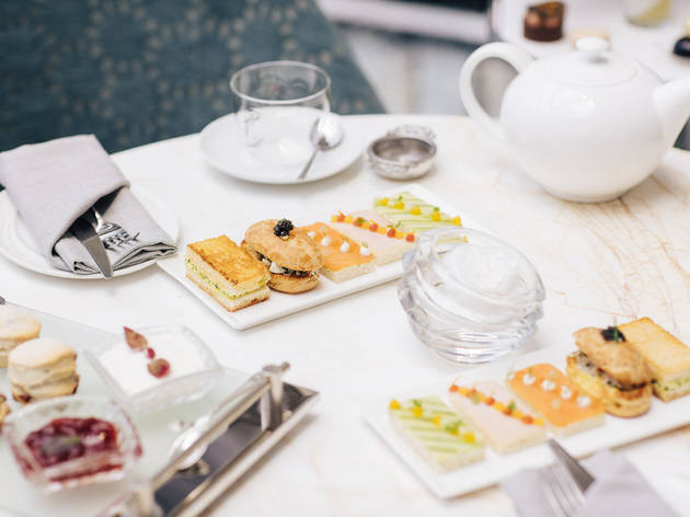Holiday High Tea at The St. Regis Bal Harbour