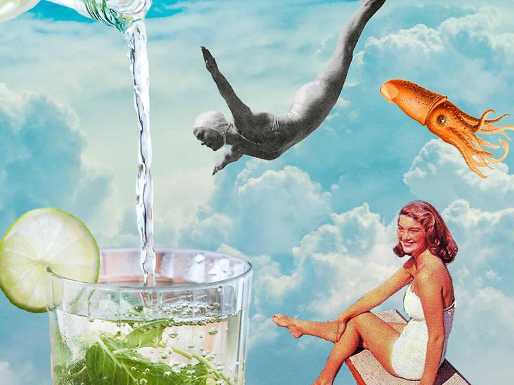 Con tequila, Strawberry Paloma