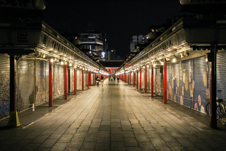 Nakamise Shopping Street Sensoji Temple