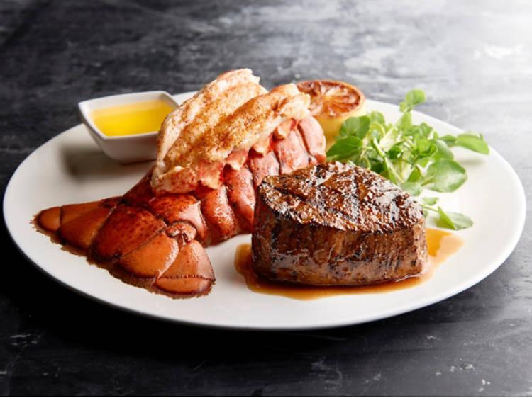 Morton's The Steakhouse:節日牛扒龍蝦套餐