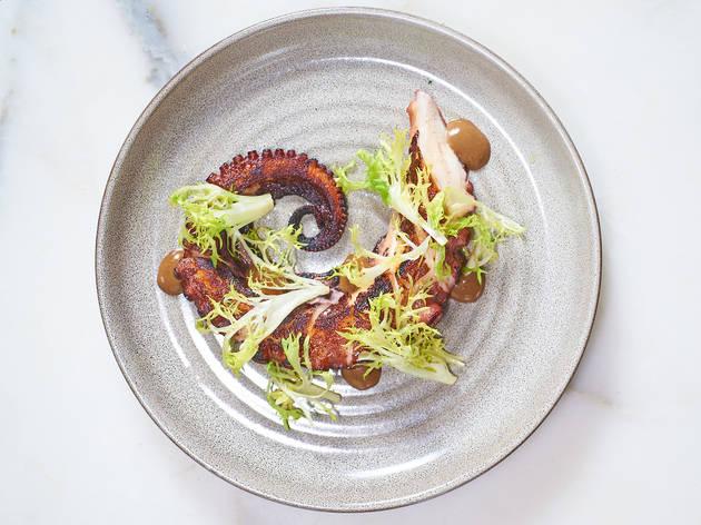 Amali Octopus Dish
