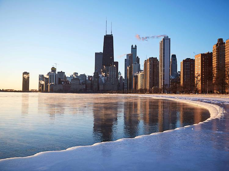 Bundle up for a trek on the Lakefront Trail