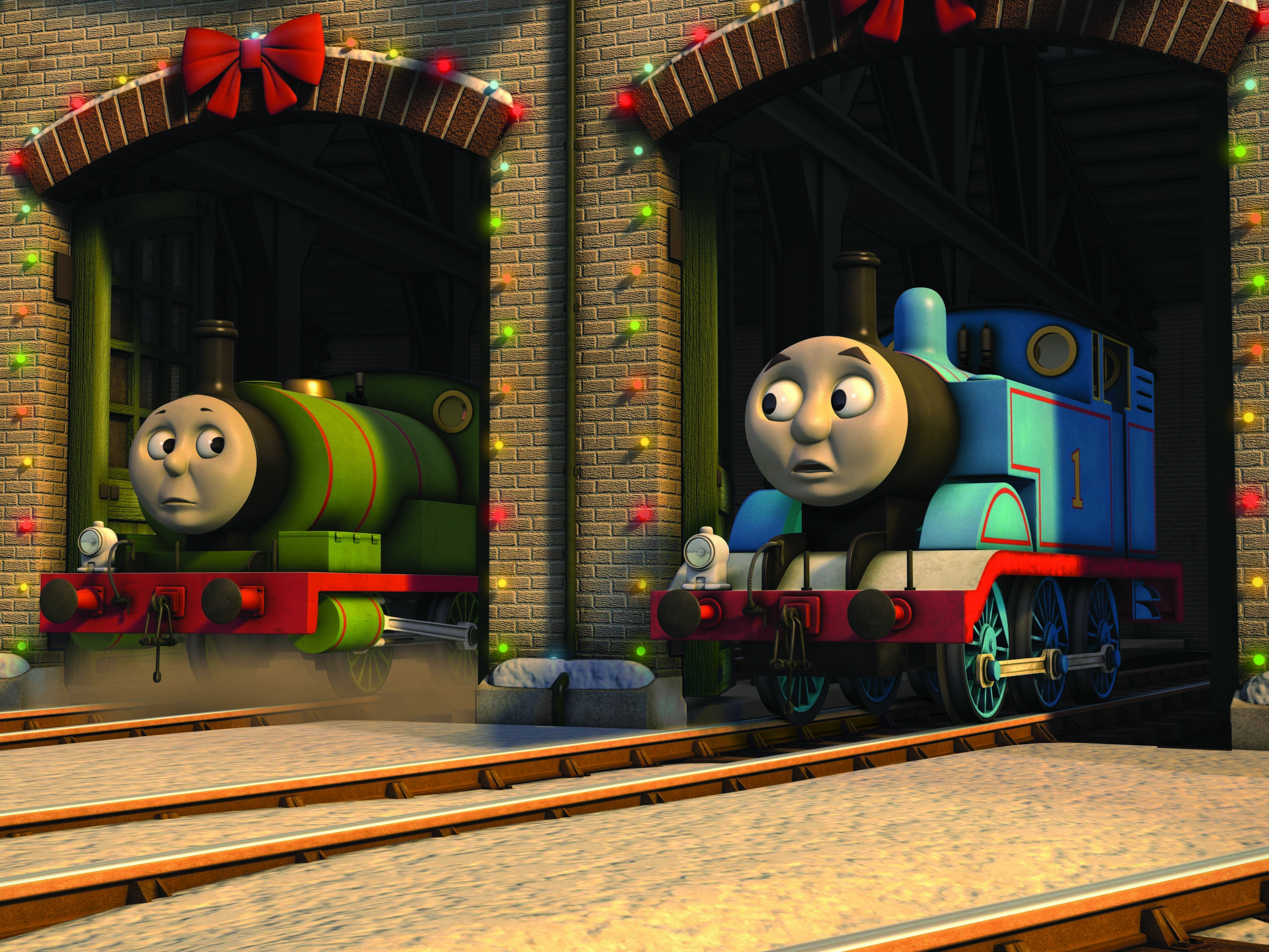 thomas the tank engine christmas