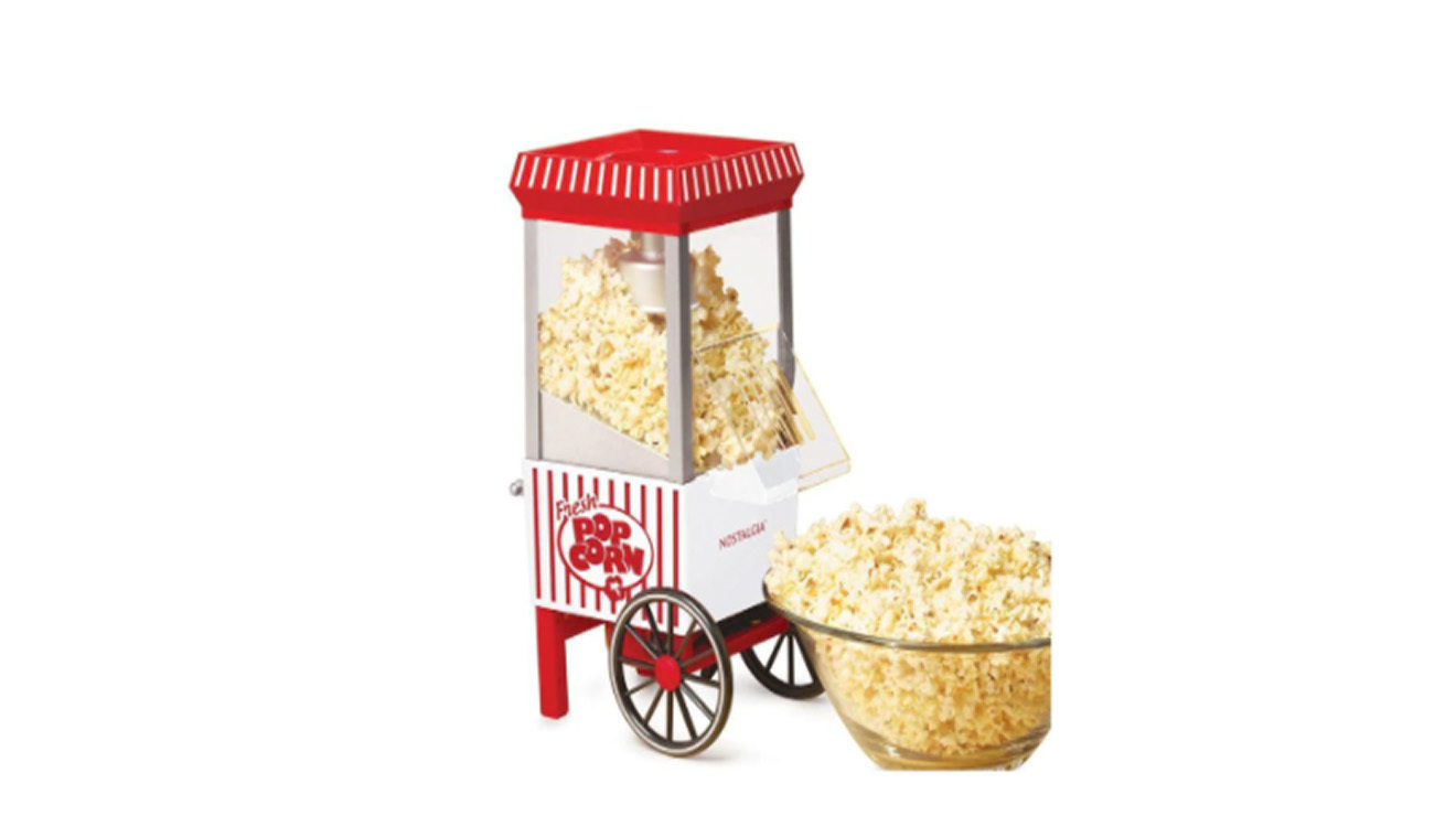 Un buen regalo para amantes del cine  Máquina de palomitas Vintage Collection