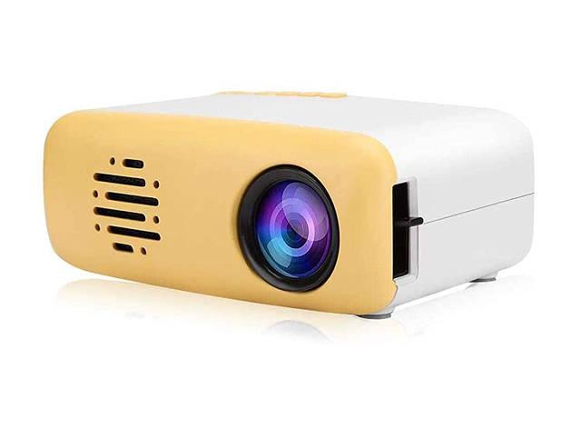Mini proyector Serounder es una opción de regalo para navidad