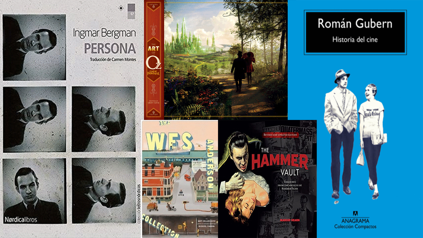 Libros de cine en el Péndulo para regalar en navidad