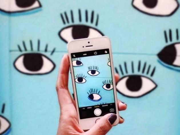 Ojos de Cristina Pollesel