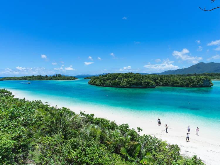 The beaches of Ishigaki, Okinawa