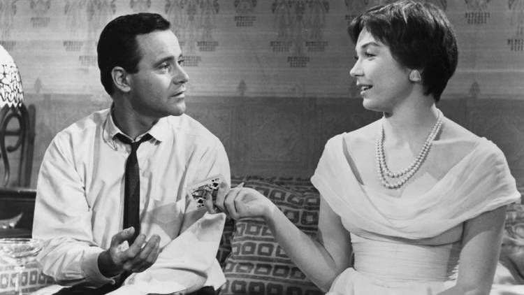 Filme, Cinema, O Apartamento (1960), Jack Lemmon, Shirley MacLaine