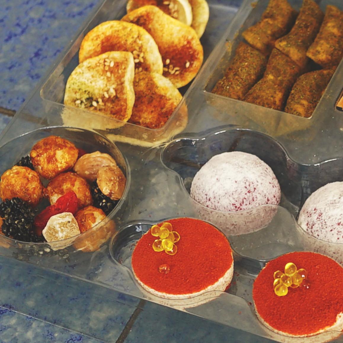 La caja de snacks de Disfrutar