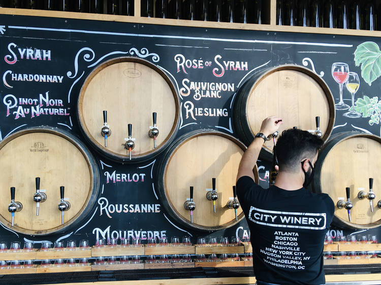 Take in a show at City Winery's new waterfront location