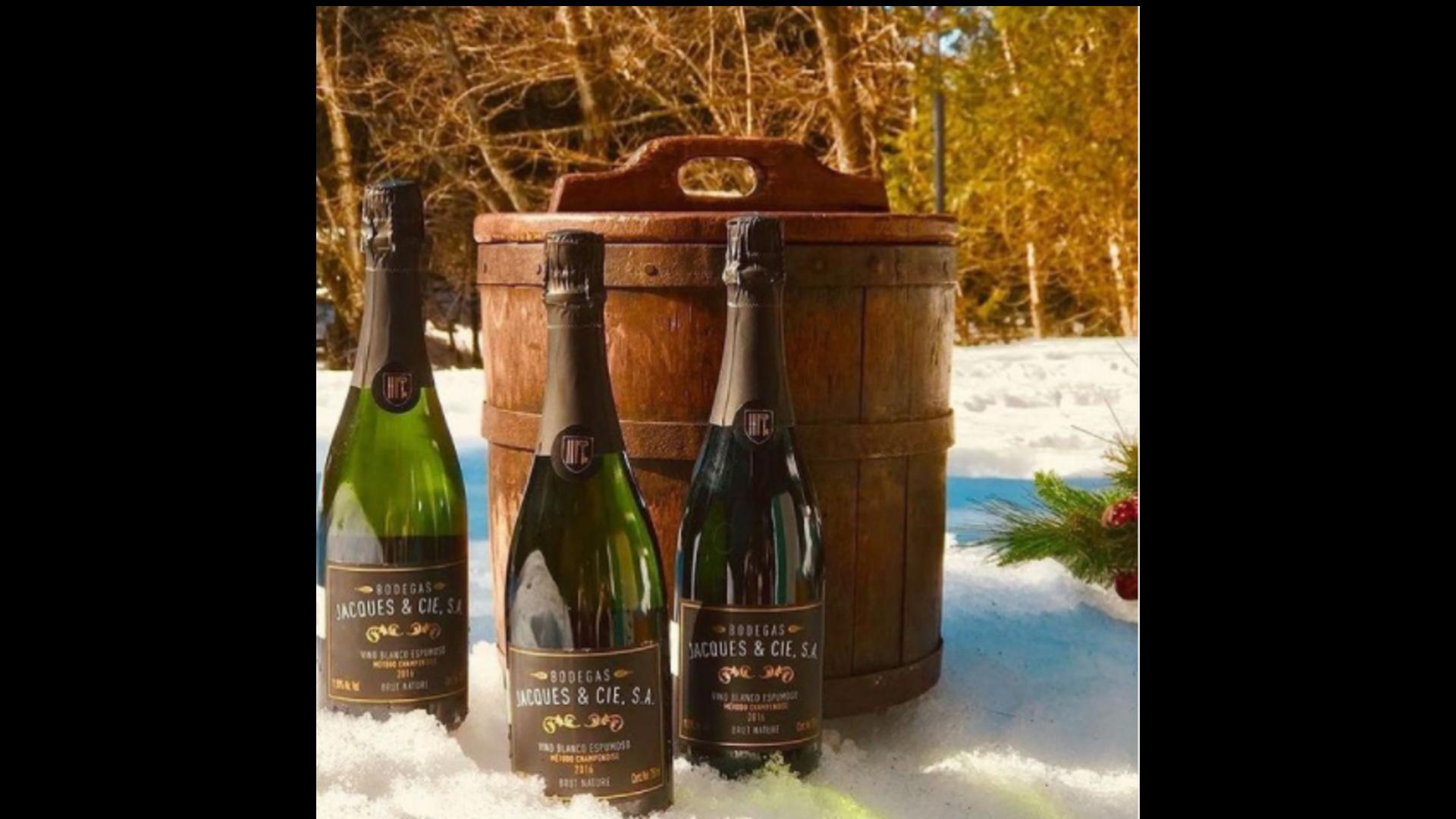 Vinos espumosos para brindar en año nuevo, Bodegas Jacques & Cie